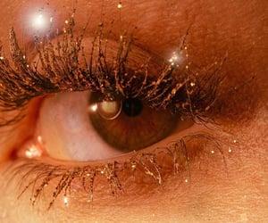 aesthetic, eye, and eyelashes image