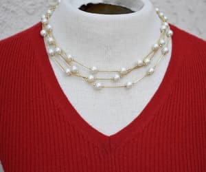etsy, choker necklace, and serpentine chain image
