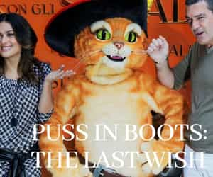 dreamworks animation, puss in boots 2, and puss in boots cast image