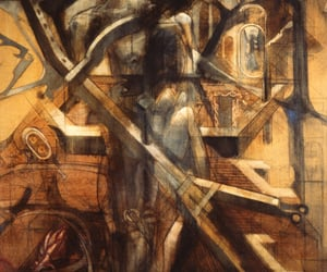 fine art, modern art, and paintings image