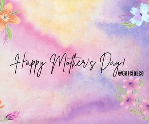 flowers, cute, and mom image