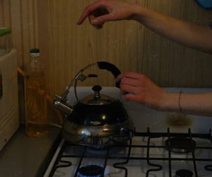 cooking, kitchen, and moment image