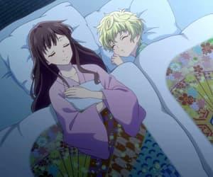 sleep, anime, and cute image
