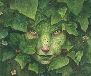 fantasy, folklore, and forest creature image