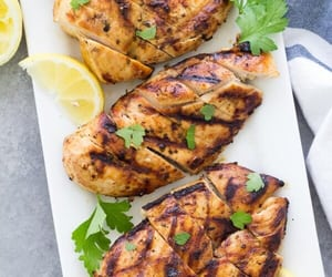 Chicken, food, and foodblog image