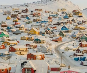 Qaqortoq, South Greenland ❄️  . photo by Freddy G. Christensen