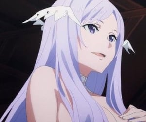 anime, icon, and purple image