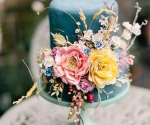 wedding, wedding cake, and themes image