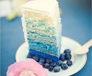 blue, blueberry, and desserts image