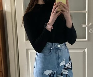 disney, outfit, and iphone image