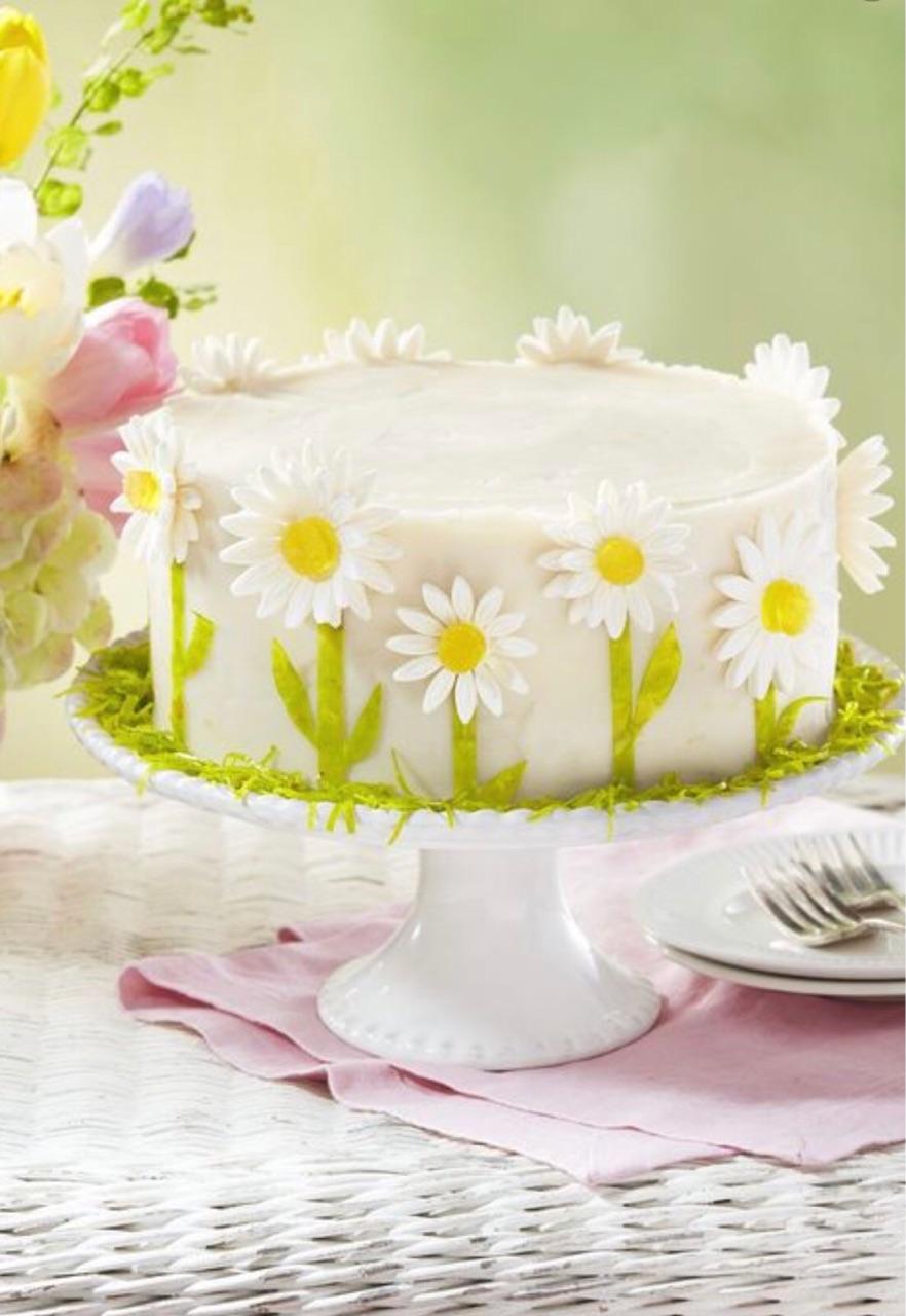 bakery, cake, and flowers image