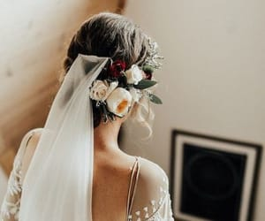 beauty, gown, and lace image