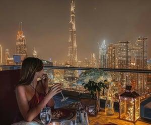 city, Dubai, and holiday image
