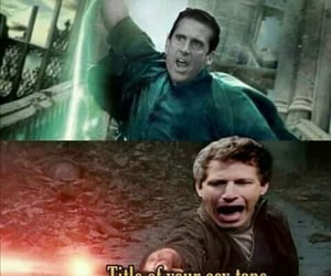 battle, funny, and harry potter image