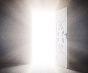 bright, doors, and light image