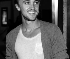 andrew, black and white, and smile image