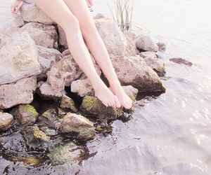 legs and rocks image