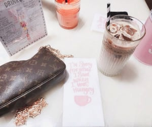 cafe, coffee, and Louis Vuitton image