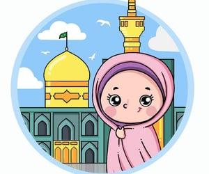 art, drawing, and islamic image