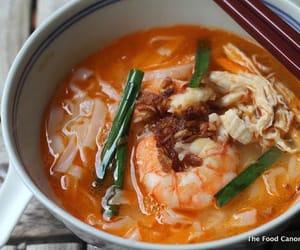 noodles, prawn, and shrimp image