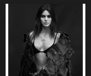kendall jenner, kendall jenner icons, and black and white image