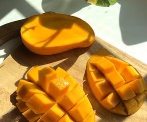 mango, food, and breakfast image