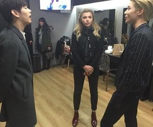 SHINee, Taemin, and chloe moretz image
