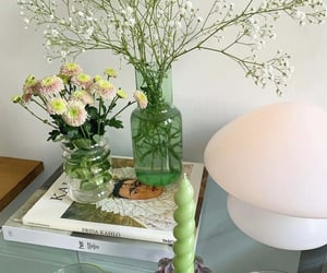 flowers, home, and green image