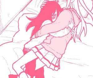 kawaii, lesbian, and manga image