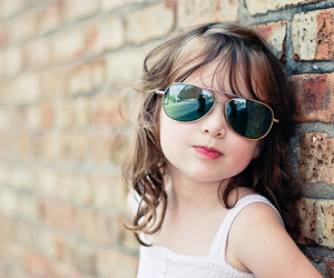 kids, sunglasses, and baby image