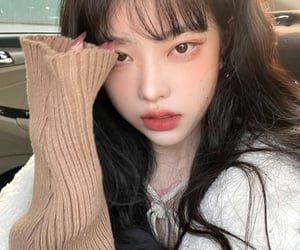 ulzzang girl, zhou xianxianye, and unfiltered image