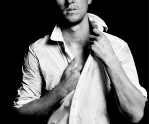 andrew, black and white, and photoshoot image
