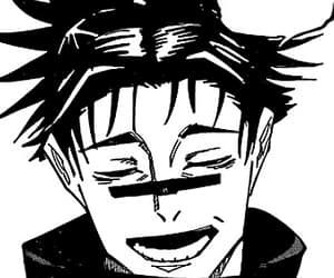 anime, black & white, and manga image