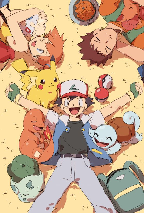 90s, jesse, and ash ketchum image