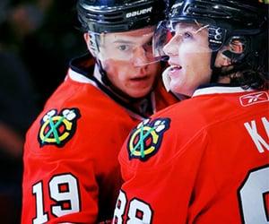hockey, chicago blackhawks, and Ice Hockey image