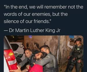 human, justice, and martin luther king image