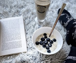 berries, blueberry, and healthy image