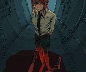anime, manga, and chainsaw man image