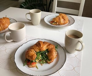coffee time, breakfast, and coffee image