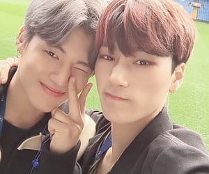 jung wooyoung, woosan, and 에이티즈 image