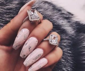 nail, uñas, and nails image