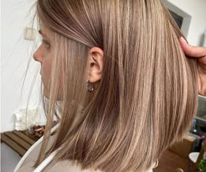 hair extensions, shoulder hair length, and medium hairstyles image