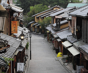 alley, japanese, and kyoto image