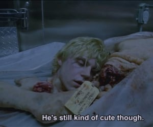 text, evan peters, and tumblr image