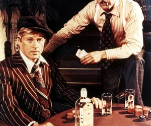 paul newman, robert redford, and the sting image