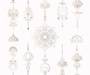 lines, mandala, and minimalistic image