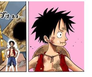 monkey d luffy and one piece manga image