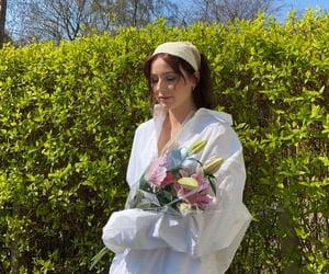 aesthetic, headscarf, and shirt image