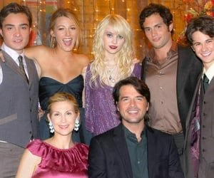 gossip girl, chuck bass, and family image