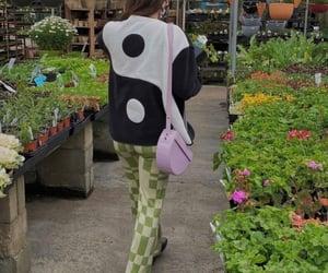 fashion, nature, and plants image